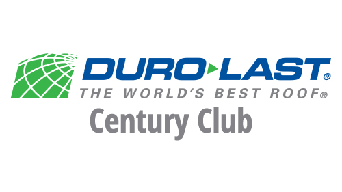 Duro-Last Century Club - D&D Roof Services Awards