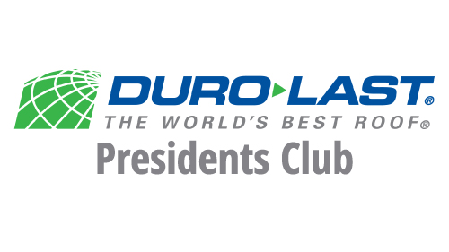 Dura-Last Presidents Club - D&D Roof Services Awards