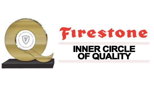 Firestone Inner Circle of Quality Award - D&D Roof Services Awards