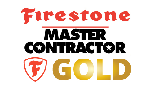 Firestone Master Contractors Gold - D&D Roof Services Awards