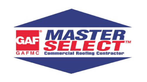 GAF's Master Select Commercial Roofing Contractor - D&D Roof Services Awards